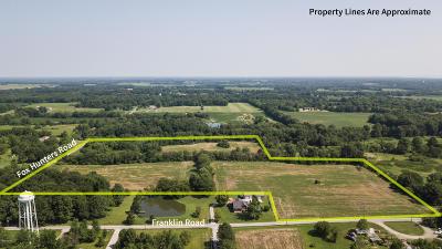 Benton Residential Lots & Land For Sale: Fox Hunter Rd. & Franklin St.