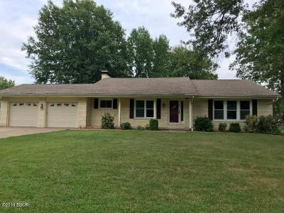 Carterville Single Family Home Active Contingent: 404 Partridge