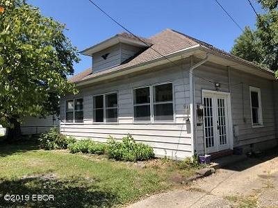 Marion Single Family Home For Sale: 910 W Hendrickson Street