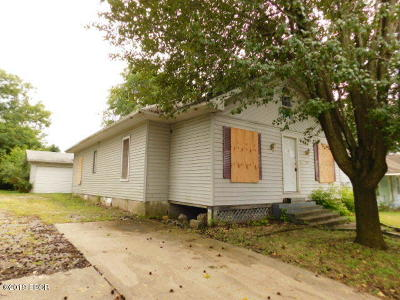 West Frankfort Single Family Home For Sale: 316 N Horn Street