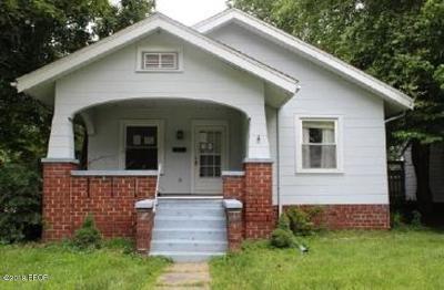 Murphysboro Single Family Home For Sale: 2140 Elm Street