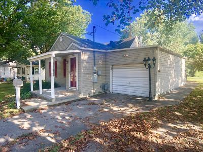 Benton Single Family Home For Sale: 804 W Webster