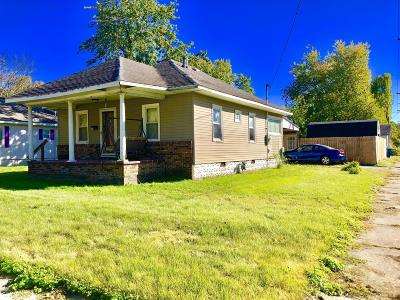 Benton Single Family Home For Sale: 344 W Fourth St Street