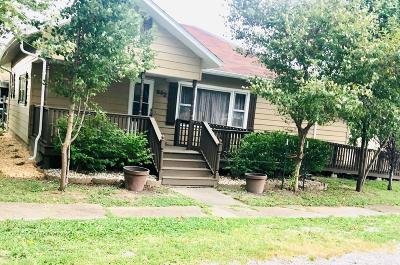 West Frankfort Single Family Home For Sale: 602 S Sunny Slope Street