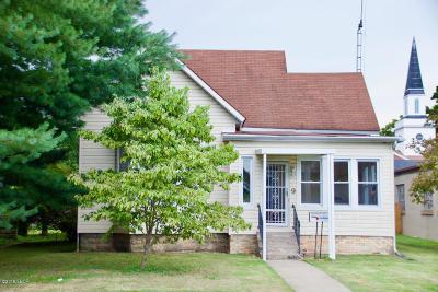 Murphysboro Single Family Home For Sale: 9 S 18th Street