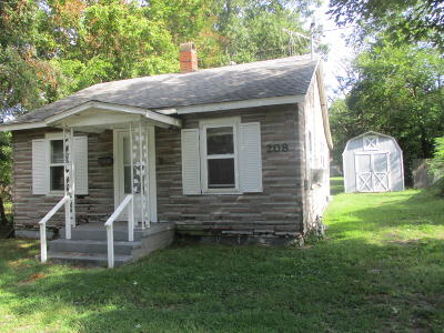 Benton Single Family Home For Sale: 208 W Williams Street