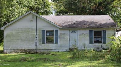 Mt. Vernon Single Family Home For Sale: 14059 E Last Street