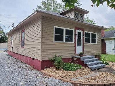 Benton Single Family Home For Sale: 206 McLeansboro Street