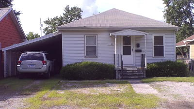 West Frankfort Single Family Home For Sale: 1111 E 5th Street