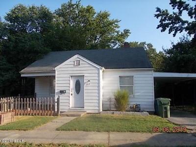Mt. Vernon Single Family Home For Sale: 314 Harrison
