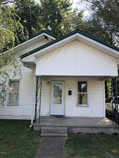 Benton Single Family Home For Sale: 914 N McLeansboro Street