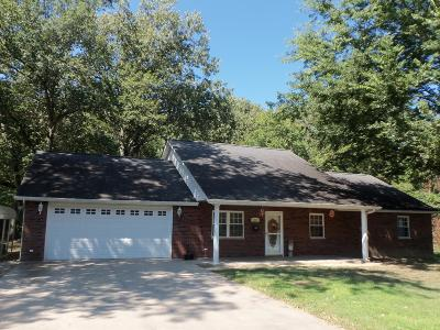 Benton Single Family Home For Sale: 1354 Whisperway