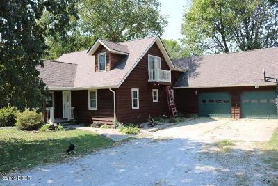 Mt. Vernon Single Family Home For Sale: 11753 N Log Cabin Ln Lane