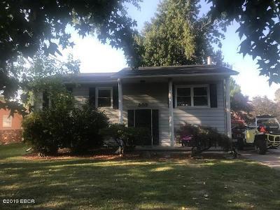 Benton Single Family Home For Sale: 305 E Bond Street