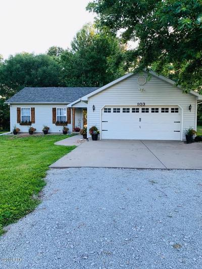Jackson County, Williamson County Single Family Home For Sale: 103 Amethyst Road