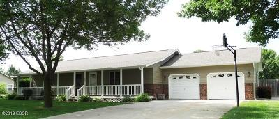 Herrin IL Single Family Home For Sale: $189,900