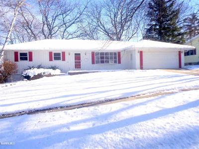 Freeport IL Single Family Home Sold: $77,000