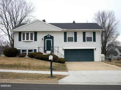 Freeport IL Single Family Home Sold: $81,000