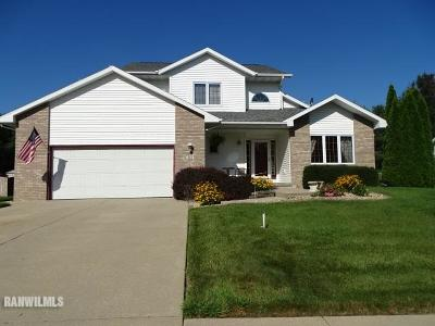 Freeport IL Single Family Home For Sale: $199,900