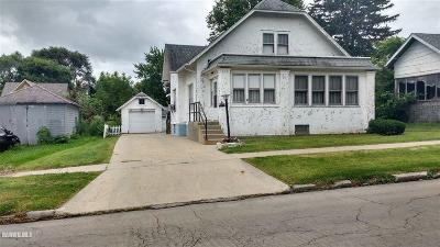 Freeport IL Single Family Home For Sale: $25,000