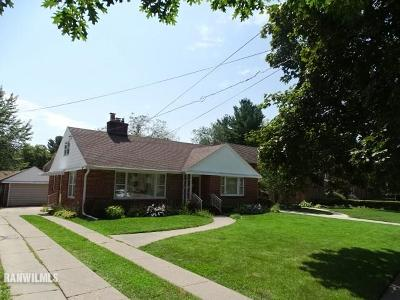 Freeport IL Single Family Home For Sale: $84,900