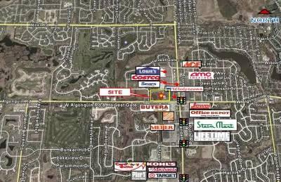 Lake In The Hills Residential Lots & Land For Sale: 2600 Harvest Gate Road