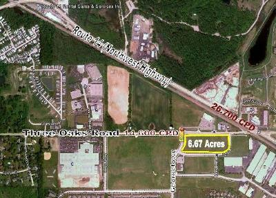 Cary Residential Lots & Land For Sale: Lot 02 Three Oaks Road