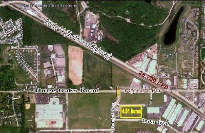 Cary Residential Lots & Land For Sale: Lot 2 Industrial Drive