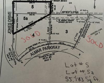 Bourbonnais Residential Lots & Land For Sale: Lot 5/5a Almar Parkway