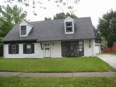 Matteson IL Single Family Home Rented: $82,400