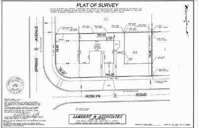 Residential Lots & Land Contingent: 906 Roslyn Road