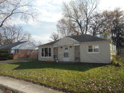 Park Forest Single Family Home For Sale: 335 Oswego Street