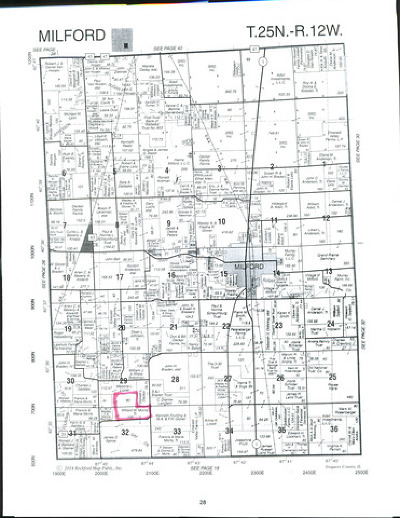 Residential Lots & Land For Sale: Sec 29 & 32 Twp 25n, R 12w
