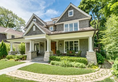 Naperville Single Family Home Price Change: 115 South Ellsworth Street