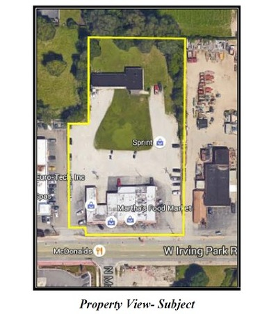 Du Page County Commercial For Sale: 227-239 West Irving Park Road