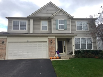 South Elgin Single Family Home Contingent: 629 Waterford Lane