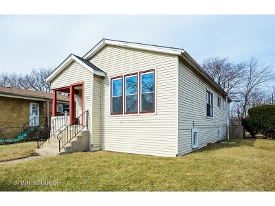 Chicago IL Single Family Home Re-Activated: $71,000