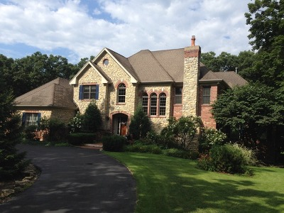 St. Charles Single Family Home For Sale: 4n912 Greenwood Lane