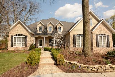 Flossmoor Single Family Home For Sale: 1401 Braeburn Avenue