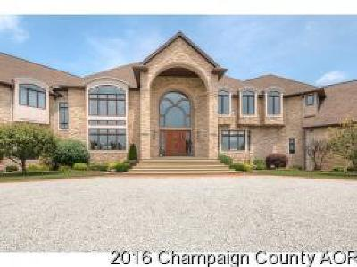Champaign County, Cook County, Ford County, Grundy County, Iroquois County, Kankakee County, Rock County, Rock Islan County, Vermilion County, Vermillion County, Whiteside County, Will County, Jasper County, Newton County Single Family Home For Sale: 713 North 1800 East Road
