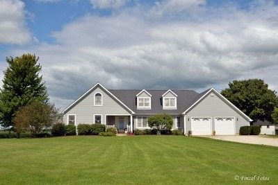 Hampshire Single Family Home Contingent: 46w350 Lenschow Road