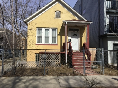 Cook County Single Family Home Re-activated: 2458 West Thomas Street West
