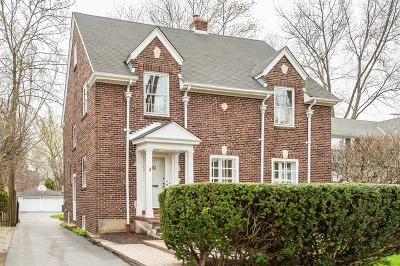 Winnetka Single Family Home For Sale: 1152 Cherry Street