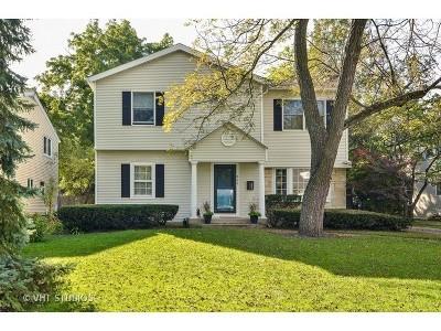 Wilmette Single Family Home For Sale: 823 Leyden Lane