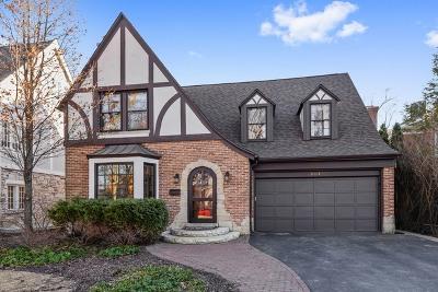 Wilmette Single Family Home For Sale: 2115 Chestnut Avenue