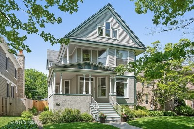 Wilmette Single Family Home For Sale: 1514 Forest Avenue