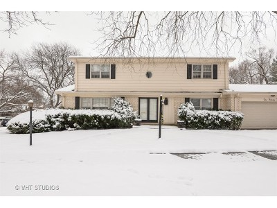 Wilmette Single Family Home For Sale: 136 Hibbard Road