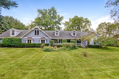 Elburn Single Family Home Contingent: 41w743 Hughes Road