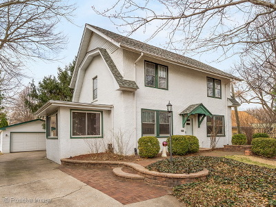 Western Springs Single Family Home For Sale: 4528 Gilbert Avenue