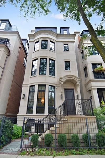 Chicago Single Family Home For Sale: 1907 North Lincoln Park West